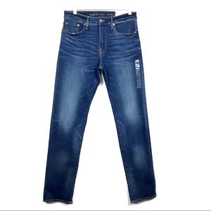 American Eagle Relaxed Straight Flex Stretch Jeans